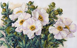 Merejka Garden Beauties Cross Stitch Kit