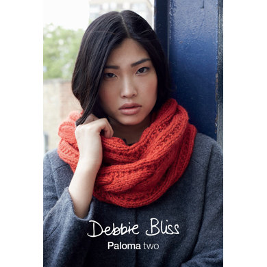 """""""Cowl And Muff"""" : Cowl Knitting Pattern in Debbie Bliss Yarn"""