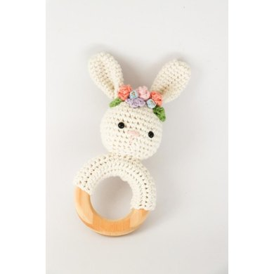 Spring Bunny Rattle Crochet Pattern By Thoresby Cottage