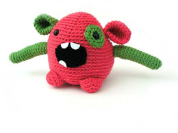 Bixi The Monster Toy in Ella Rae Classic Wool