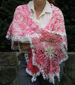 Freeform Doily Wrap