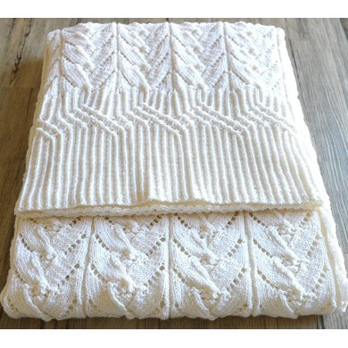 Cathedral Heirloom Baby Blanket