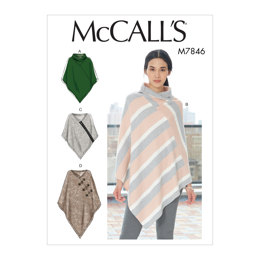 McCall's Misses' Ponchos M7846 - Sewing Pattern