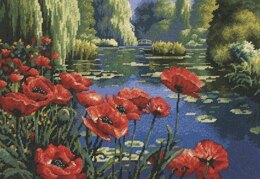 Dimensions Lakeside Poppies Tapestry Kit - 41 x 28 cm
