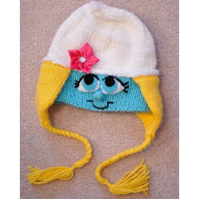 Blue is Beautiful Earflap Hat - 3-5 Years and Adult
