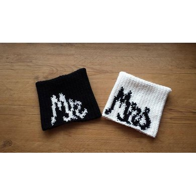 Sack Beanie - Mr and Mrs Wedding