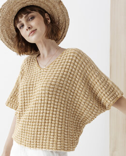 Johanna Sweater in Phildar Phil Ecocoton - Downloadable PDF
