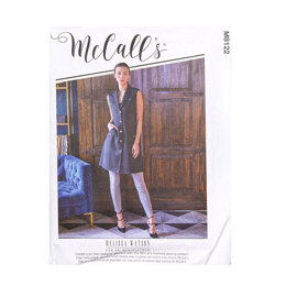 McCall's Misses' Vests M8122 - Sewing Pattern