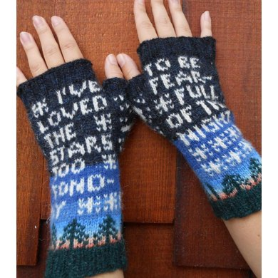 I've Loved the Stars Mitts
