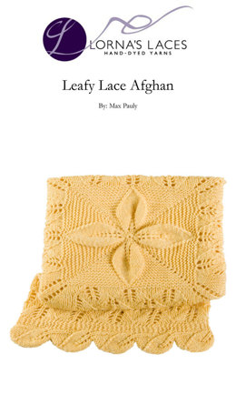 Leafy Lace Afghan in Lorna's Laces Shepherd Worsted