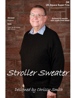Stroller Sweater in UK Alpaca Super Fine DK (Downloadable PDF)