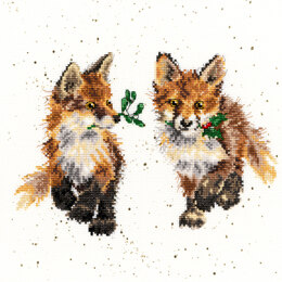 Bothy Threads Glad Tidings Cross Stitch Kit