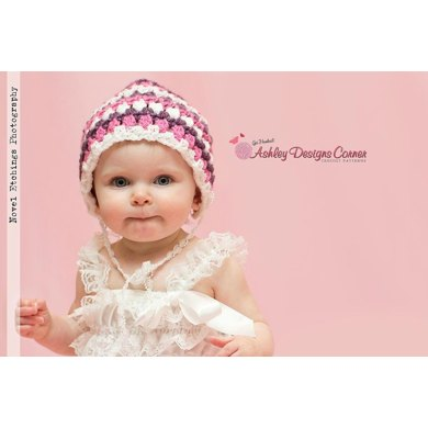 Spring Tulip Bonnet (Newborn - 10 Years)