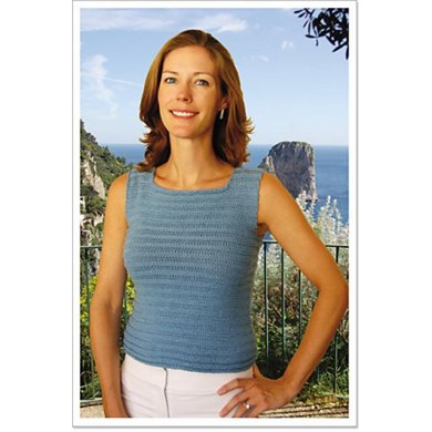 Square Neck Tank Top to Knit