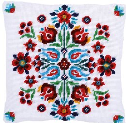 Vervaco Folklore I Cushion Tapestry Kit
