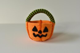 Jack o'Lantern Trick or Treat Candy Basket